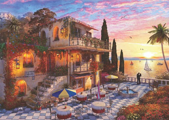 Mediterranean Romance - 3000pc Jigsaw Puzzle by Anatolian  			  					NEW