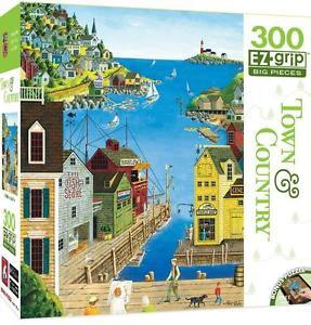 Town & Country: A Walk on the Pier - 300pc EZ Grip Jigsaw Puzzle By Masterpieces