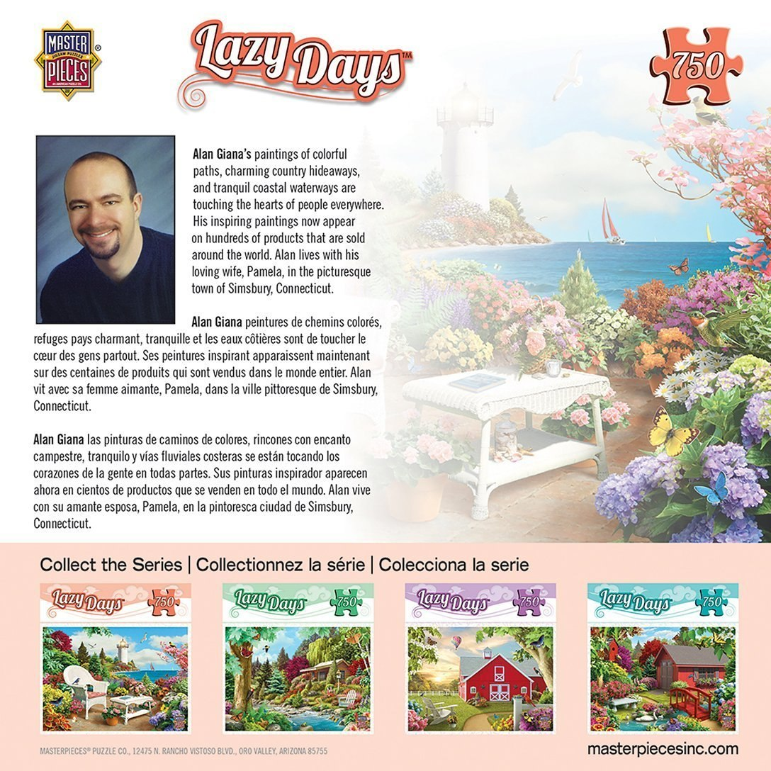 Lazy Days: Memories - 750pc Jigsaw Puzzle By Masterpieces  			  					NEW - image 2