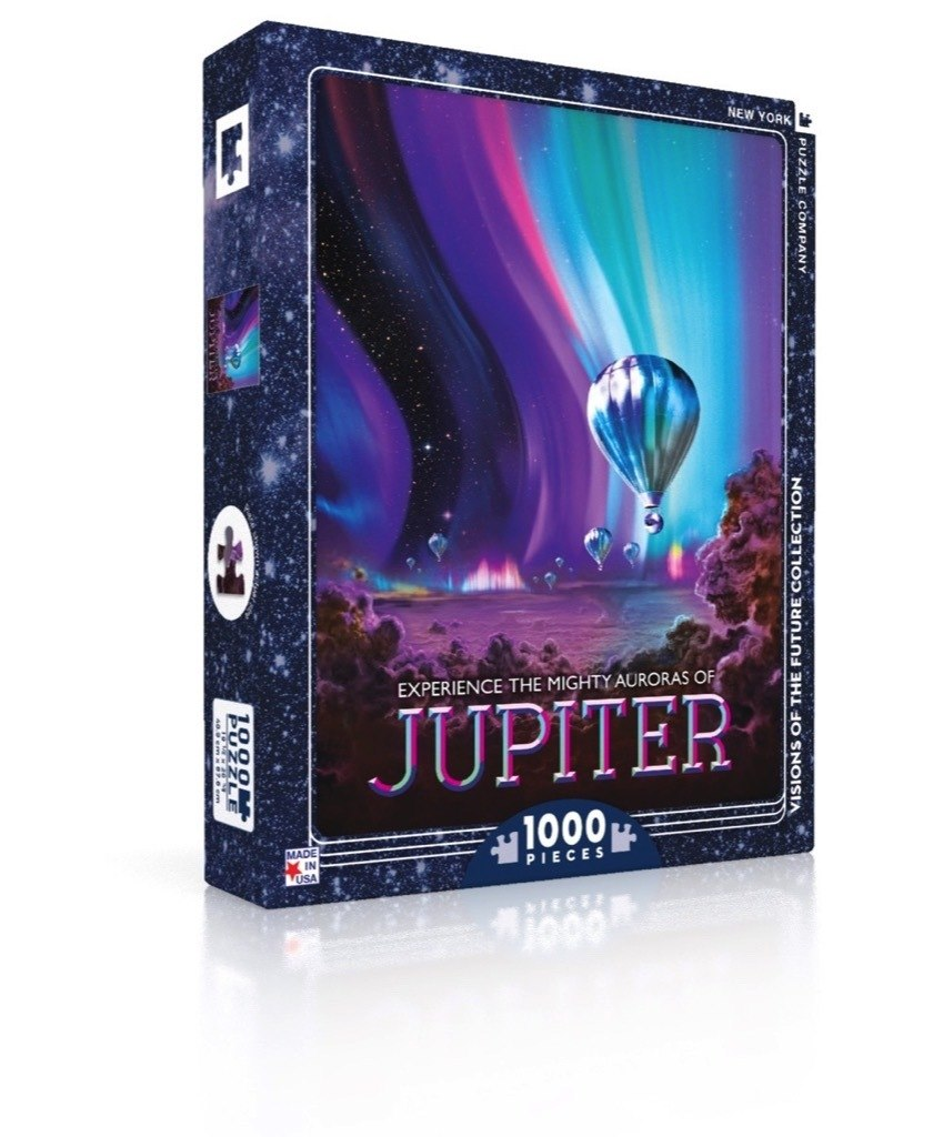 Jupiter - 1000pc Jigsaw Puzzle by New York Puzzle Company  			  					NEW