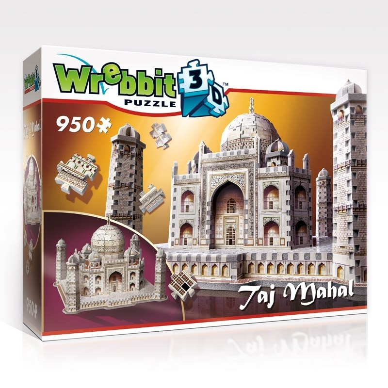Taj Mahal - 950pc 3D Puzzle by Wrebbit