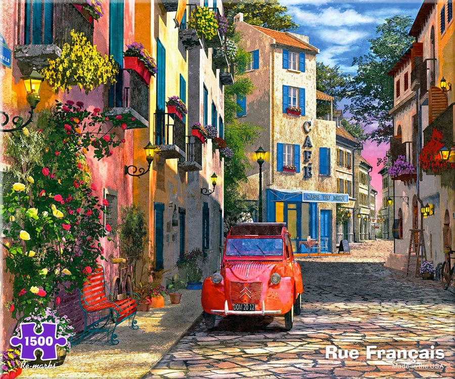 Rue Francais - 1500pc Jigsaw Puzzle By Re-marks  			  					NEW