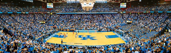 University of Kentucky - 1000pc Panoramic Jigsaw Puzzle by Masterpieces