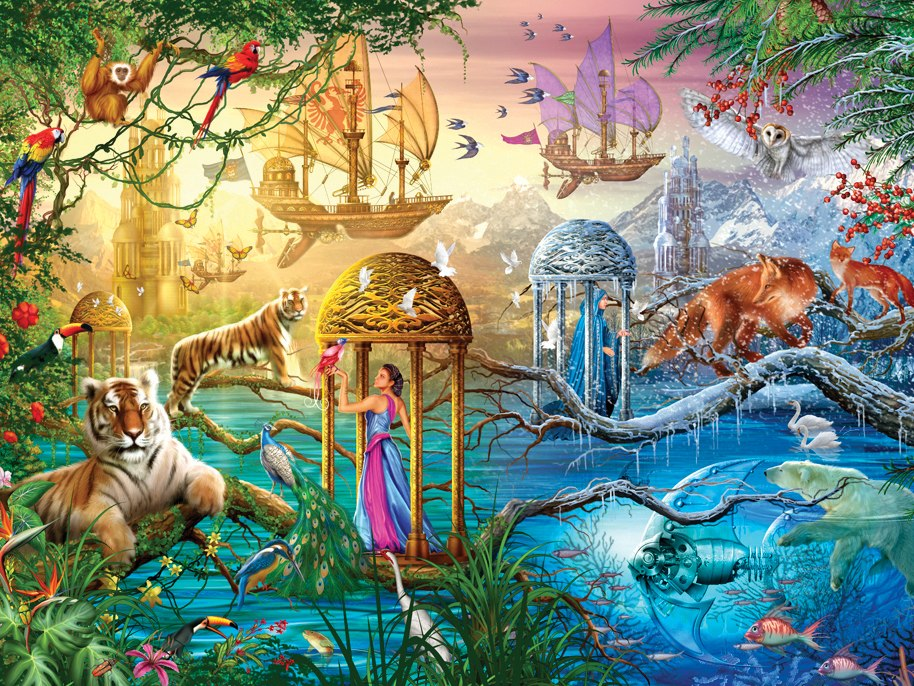 Magical World: Shangri-La - 750pc Jigsaw Puzzle by Ceaco