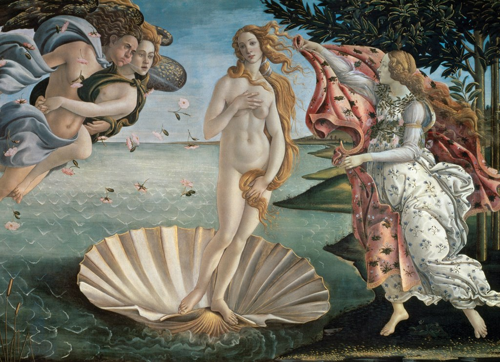 Birth of Venus - 1000pc Jigsaw Puzzle by Eurographics