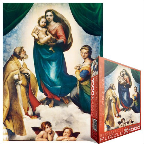 Raphael: Sistine Madonna - 1000pc Jigsaw Puzzle by Eurographics