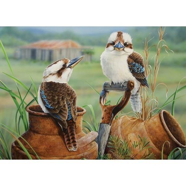 Wild Wings: The Country Siders - 1000pc Jigsaw Puzzle by Holdson  			  					NEW