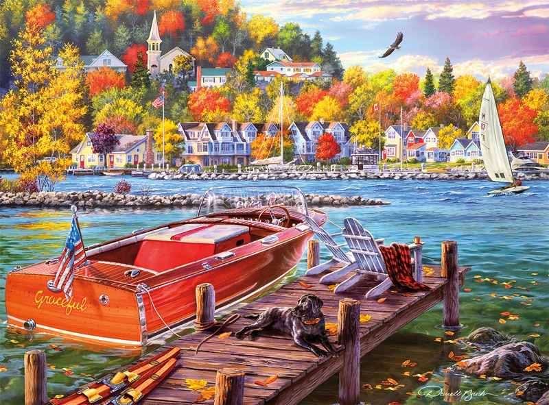 Darrell Bush: Season Finale - 1000pc Jigsaw Puzzle by Buffalo Games  			  					NEW