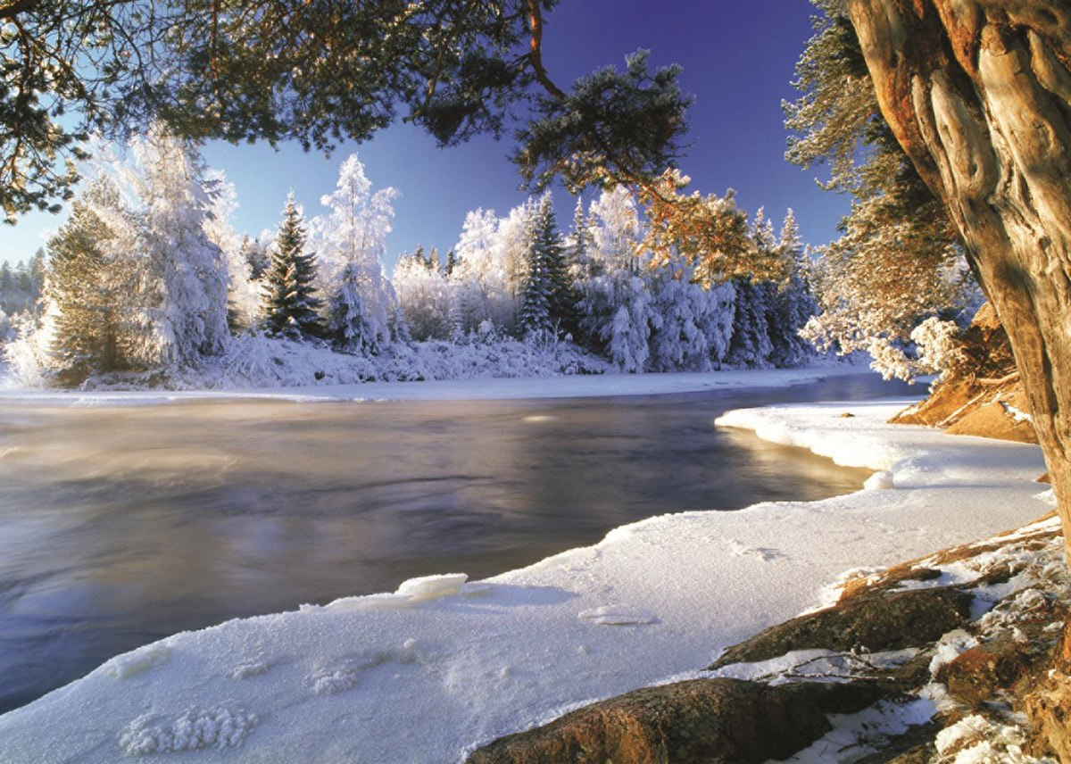 Dal River, Sweden - 1000pc Jigsaw Puzzle By Jumbo  			  					NEW