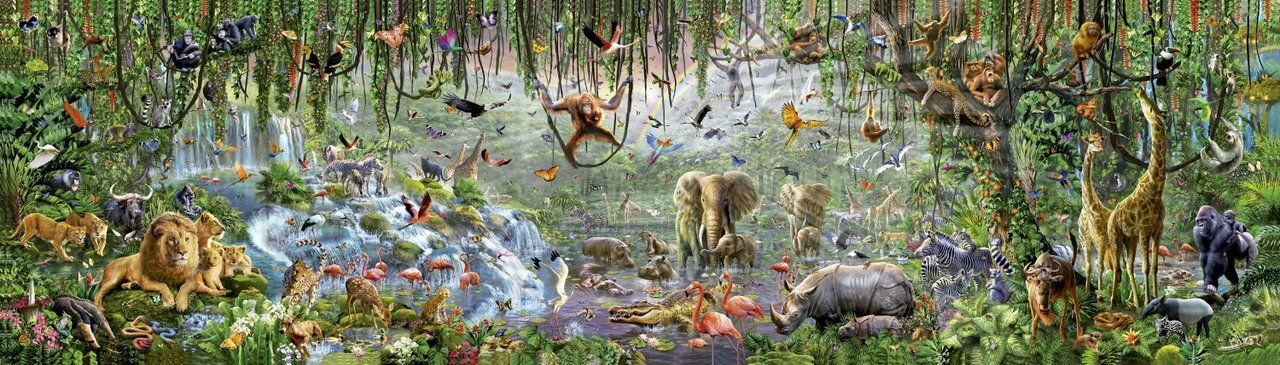 Wildlife - 33600pc Jigsaw Puzzle By Educa