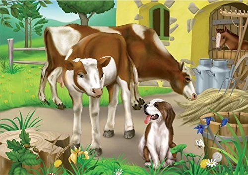 Farm Cows - 24pc Jigsaw Puzzle by D-Toys