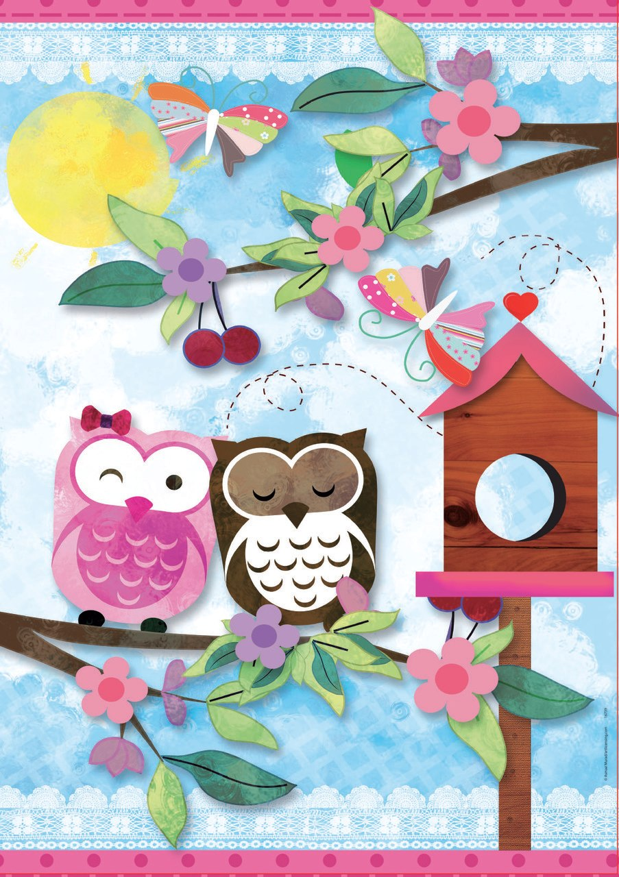 Valentine Art Scrap - 500pc Jigsaw Puzzle by Educa