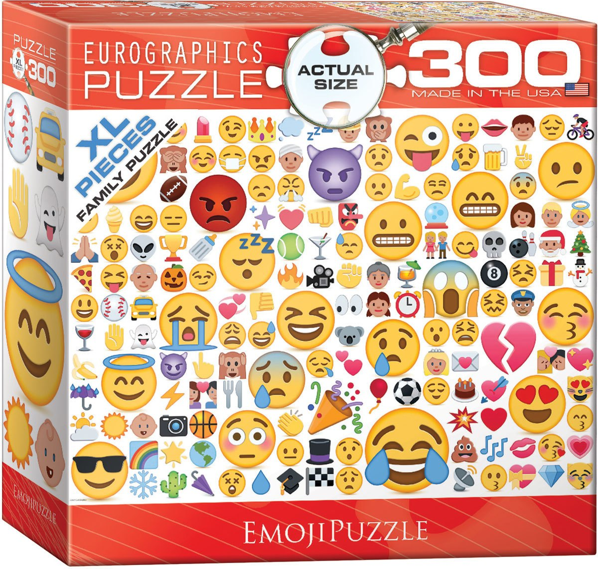 Emojipuzzle - 300pc Jigsaw Puzzle by Eurographics