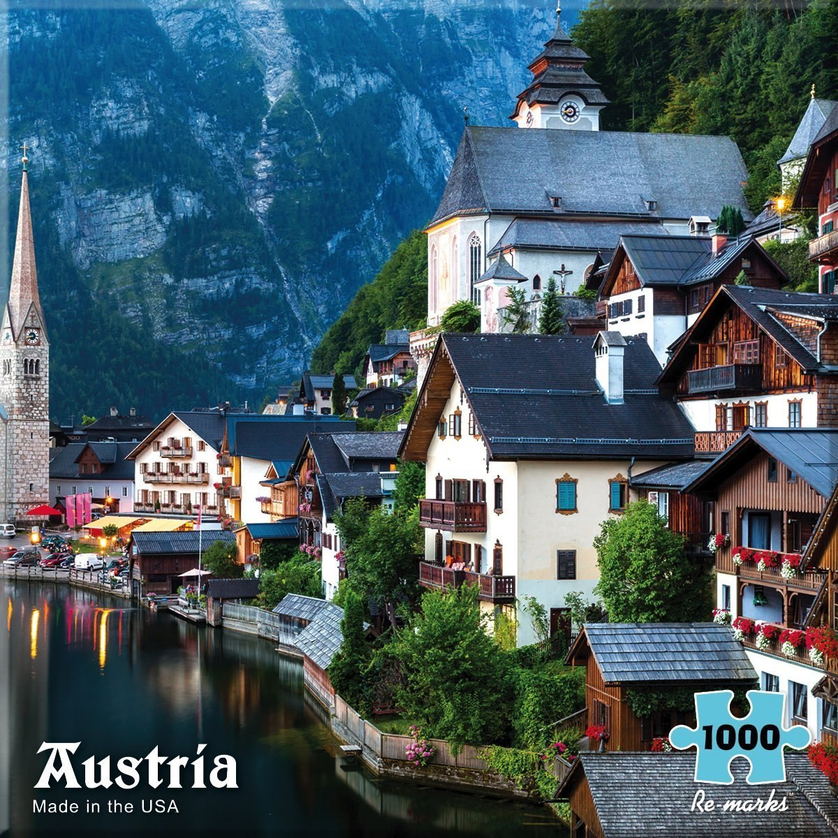 Austria - 1000pc Jigsaw Puzzle By Re-marks  			  					NEW