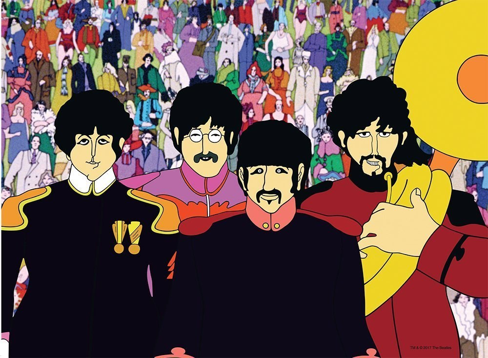 Beatles: Yellow Submarine - 500pc Jigsaw Puzzle By Ravensburger