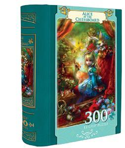 Book Box: Alice at the Chessboard - 300pc EZ Grip Jigsaw Puzzle By Masterpieces