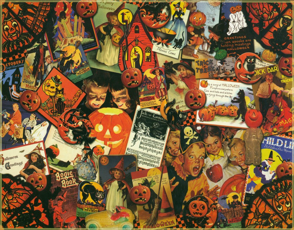 Trick or Treat - 1000pc Jigsaw Puzzle By Vermont Christmas Company