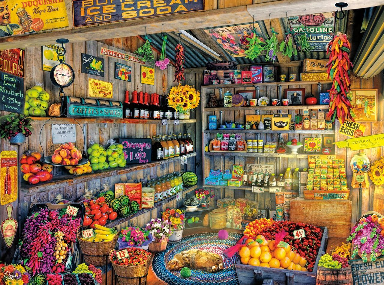 Farm Fresh - 1000pc Jigsaw Puzzle By Buffalo Games  			  					NEW