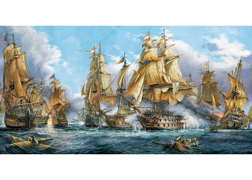 Naval Battle - 4000pc Jigsaw Puzzle By Castorland