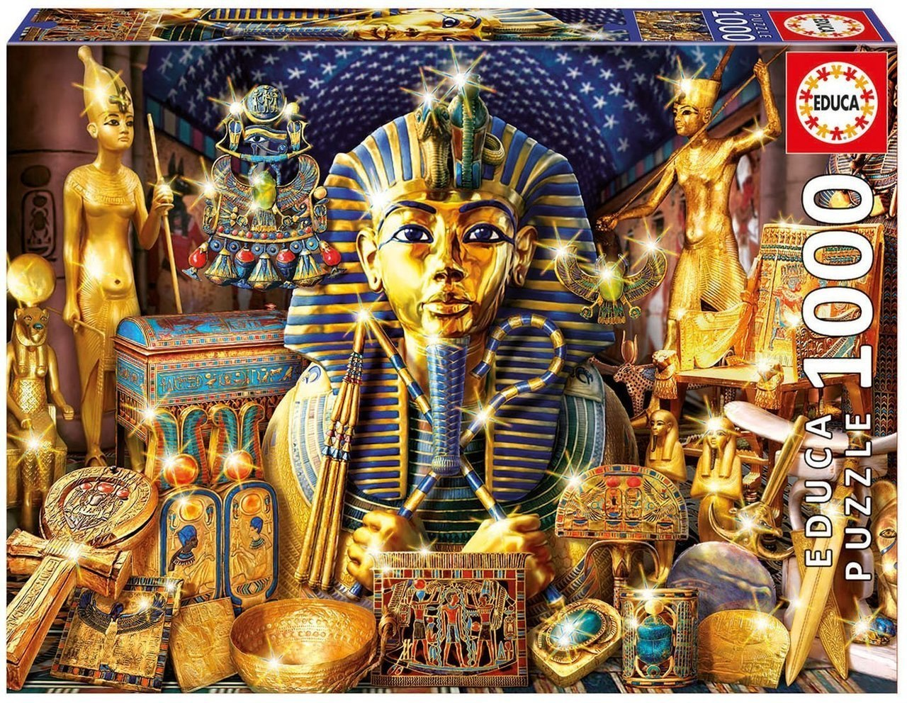 Treasures Of Egypt - 1000pc Jigsaw Puzzle By Educa  			  					NEW