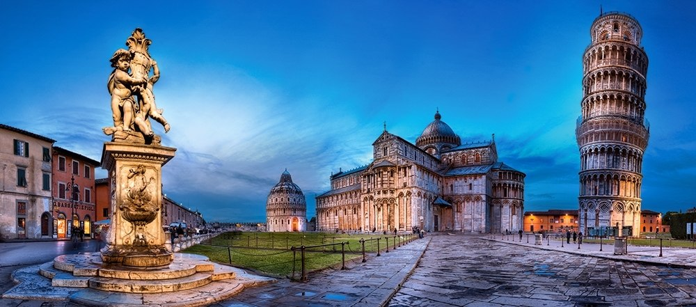 Pisa and Piazza dei Miracoli - 600pc Jigsaw Puzzle By Castorland  			  					NEW