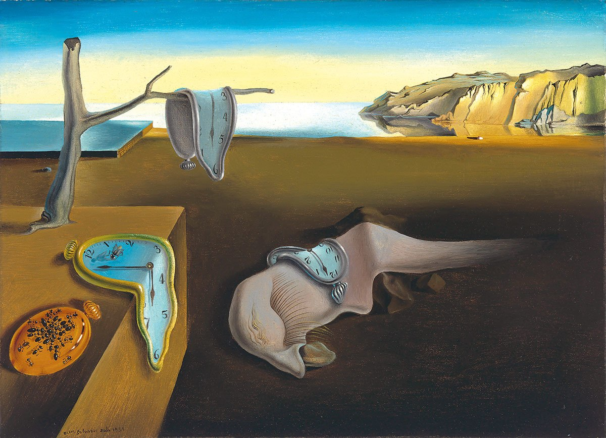 Dali: The Persistence of Memory - 1000pc Jigsaw Puzzle by Eurographics  			  					NEW