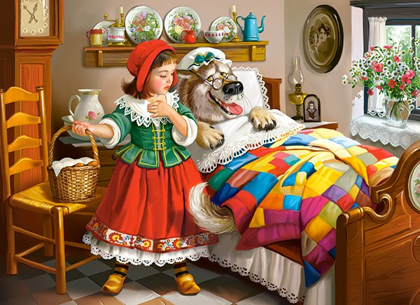 Little Red Riding Hood - 300pc Jigsaw Puzzle By Castorland