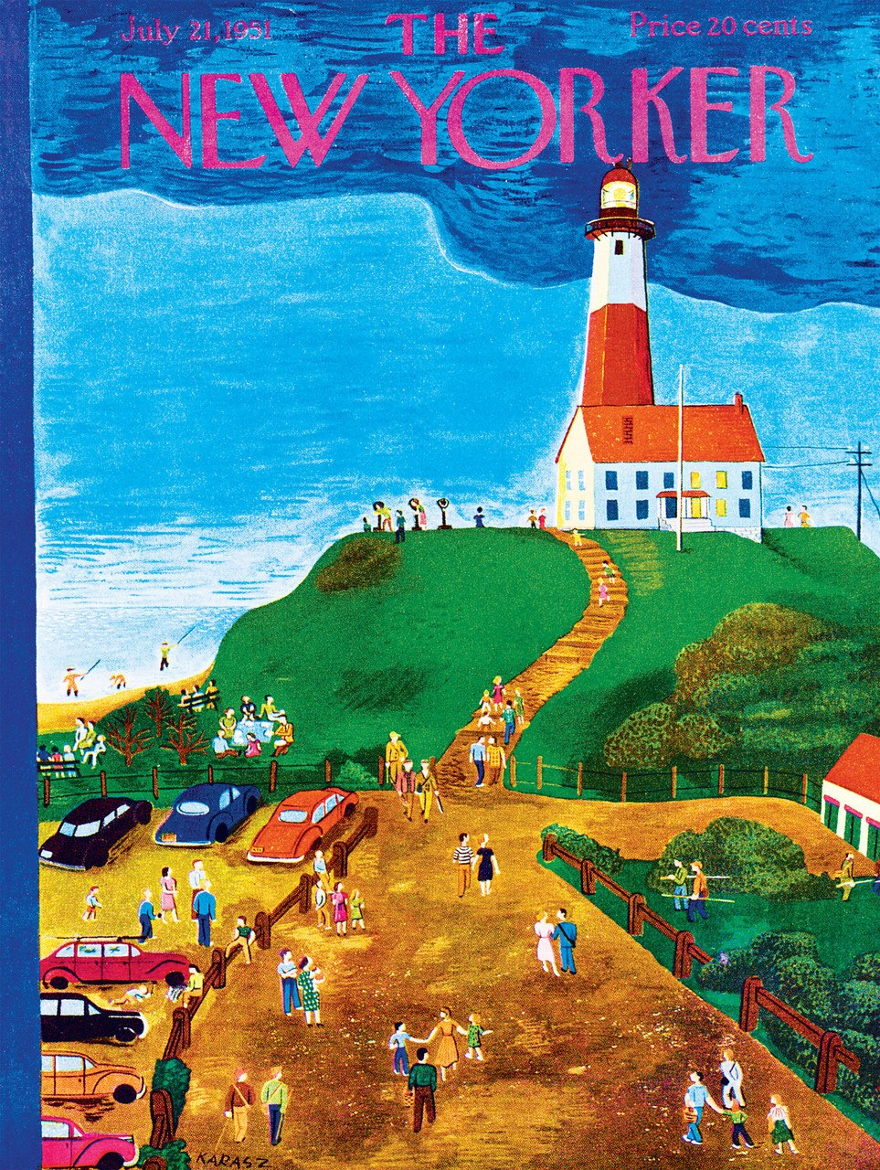 The Lighthouse - 500pc Jigsaw Puzzle by New York Puzzle Company