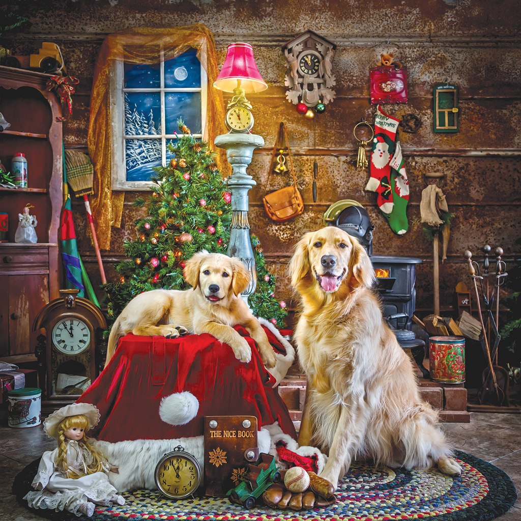Santa's Little Helpers - 1000pc Jigsaw Puzzle by Sunsout