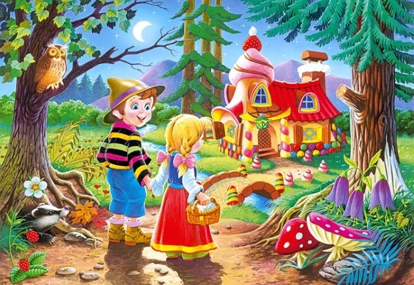 Hansel and Gretel - 60pc Jigsaw Puzzle By Castorland  			  					NEW
