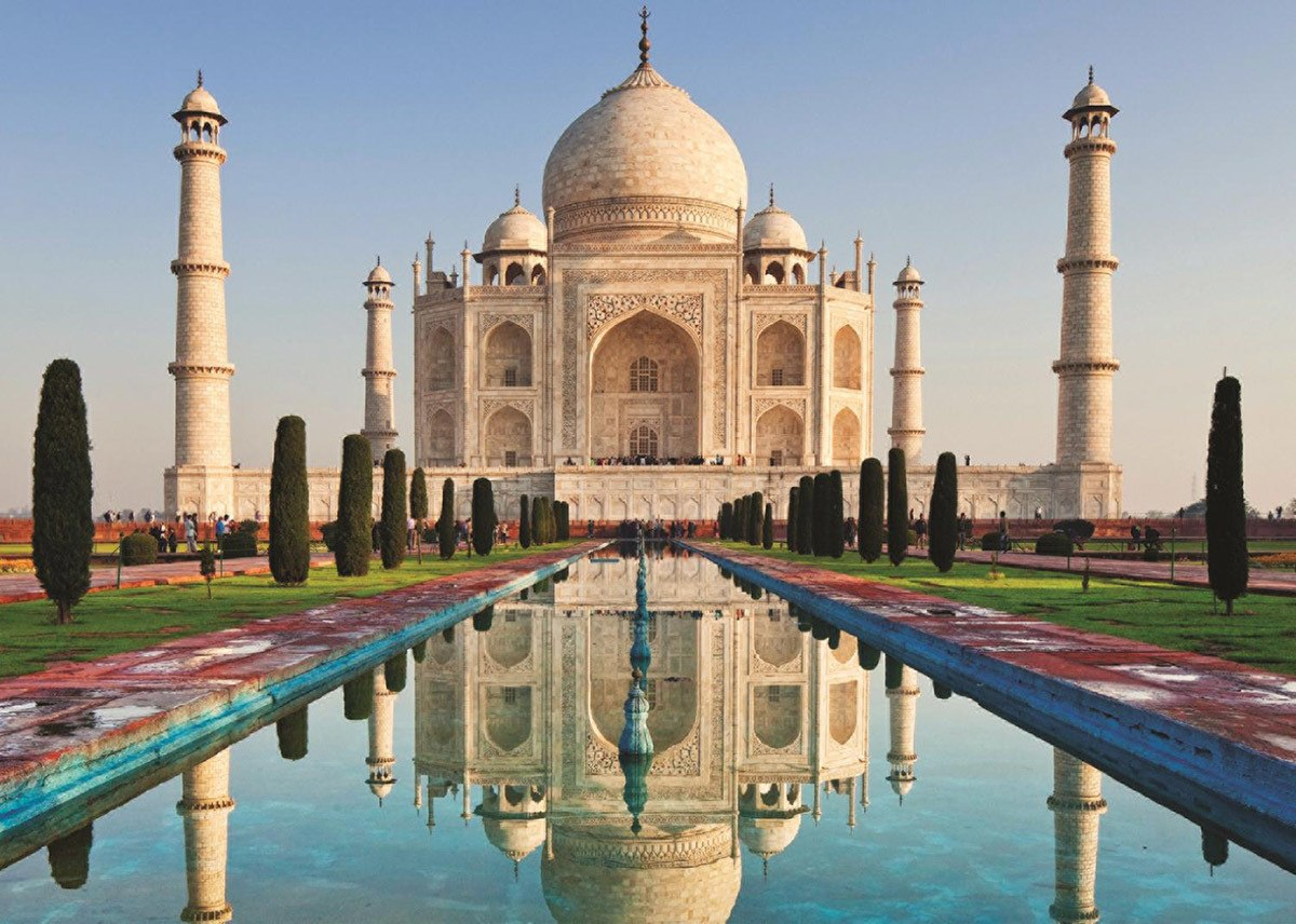 Taj Mahal, India - 1000pc Jigsaw Puzzle By Jumbo  			  					NEW