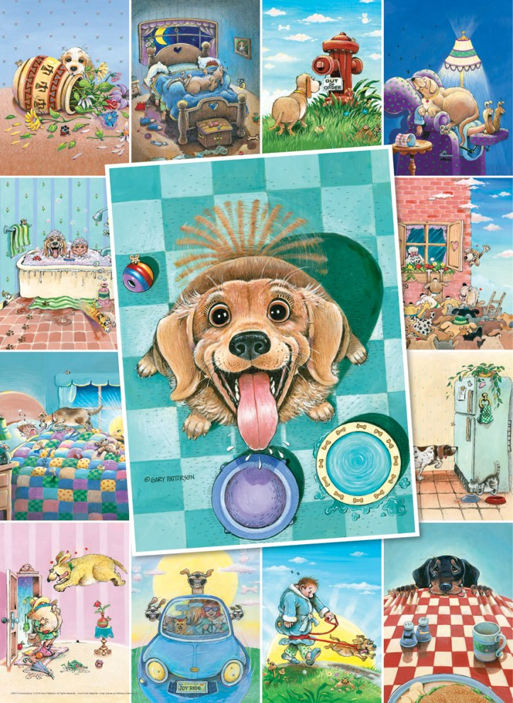 Patterson: Dog's Life - 500pc Jigsaw Puzzle by Eurographics  			  					NEW
