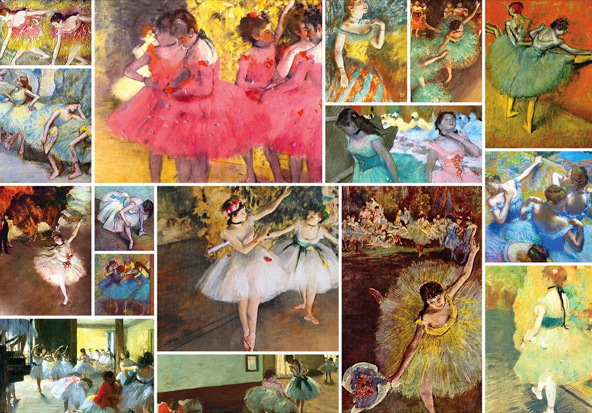 Degas - 1500pc Jigsaw Puzzle By Re-marks  			  					NEW