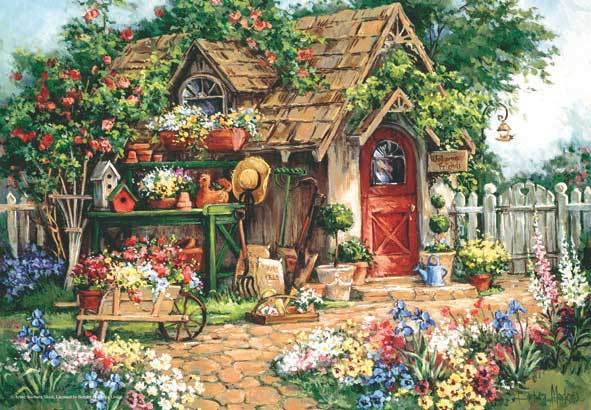 Gardener's Haven - 500pc Jigsaw Puzzle by Anatolian