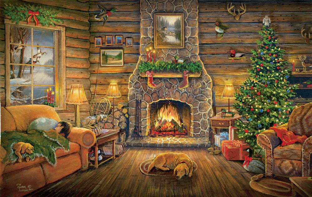 Holiday Rest - 550pc Jigsaw Puzzle By Sunsout