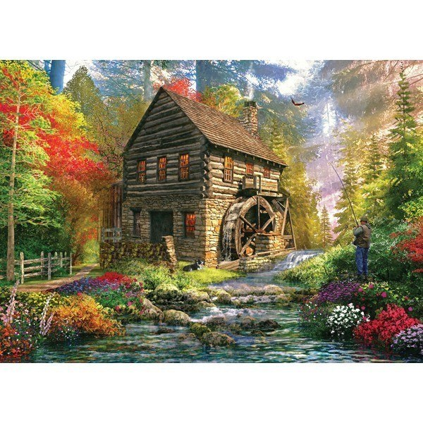 Picture Perfect II: Mill Cottage - 1000pc Jigsaw Puzzle by Holdson  			  					NEW