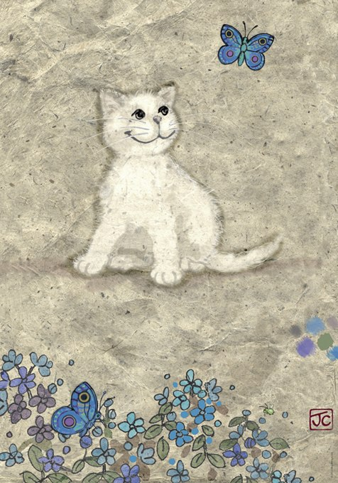 White Kitty - 500pc Jigsaw Puzzle By Heye  			  					NEW