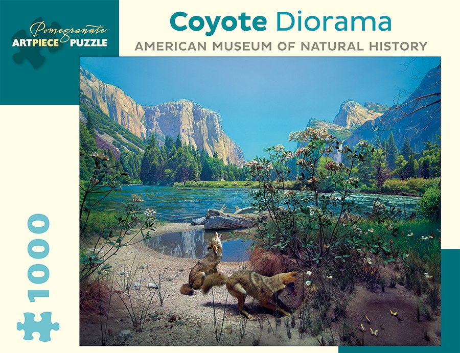 Coyote Diorama - 1000pc Jigsaw Puzzle by Pomegranate  			  					NEW