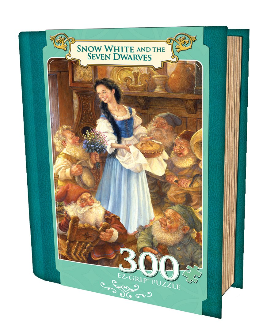 Snow White and the Seven Dwarfs - 300pc EZ Grip Jigsaw Puzzle by Masterpieces