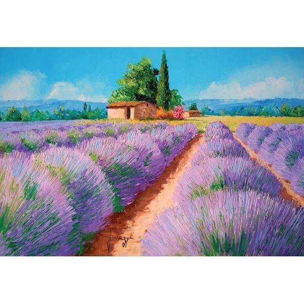 Summer Times: Lavender Scent - 500pc Jigsaw Puzzle by Holdson