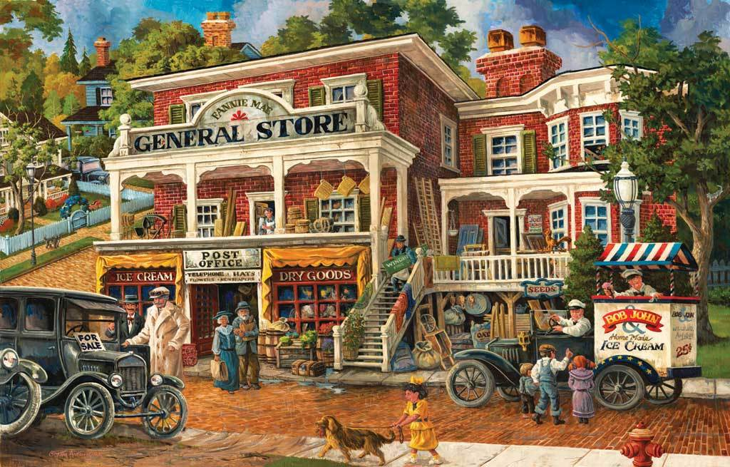 Fannie Mae's General Store - 1000pc Jigsaw Puzzle By Sunsout
