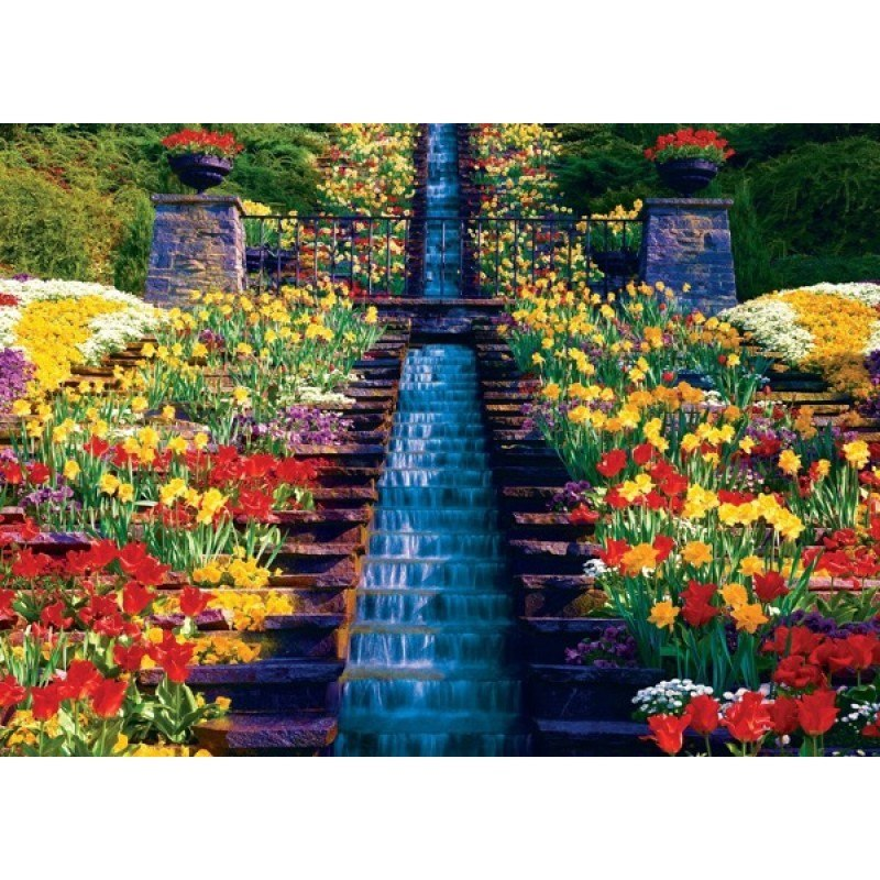 Brilliance: Cascading Falls - 1000pc Jigsaw Puzzle by MasterPieces