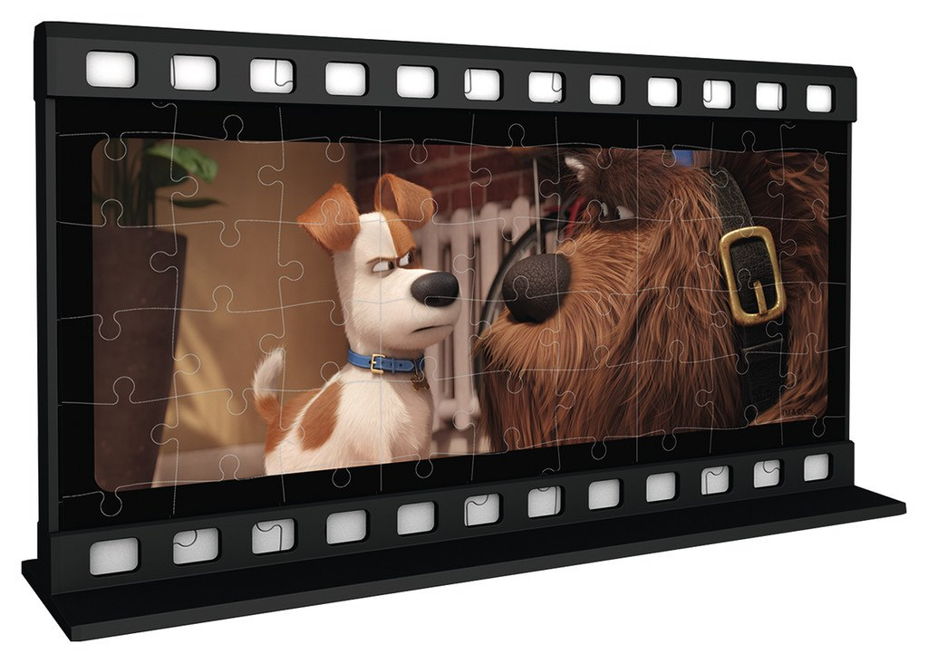 Secret Life of Pets - 108pc Two-Sided 3D Filmstrip Jigsaw Puzzle By Ravensburger