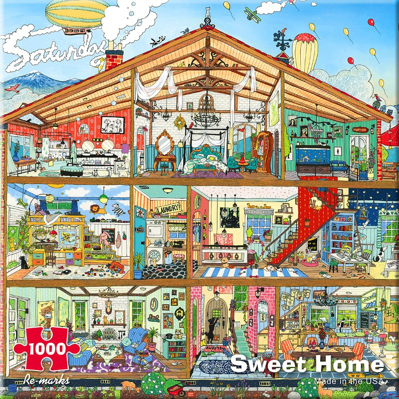 Architecture - 1000pc Jigsaw Puzzle By Re-marks  			  					NEW