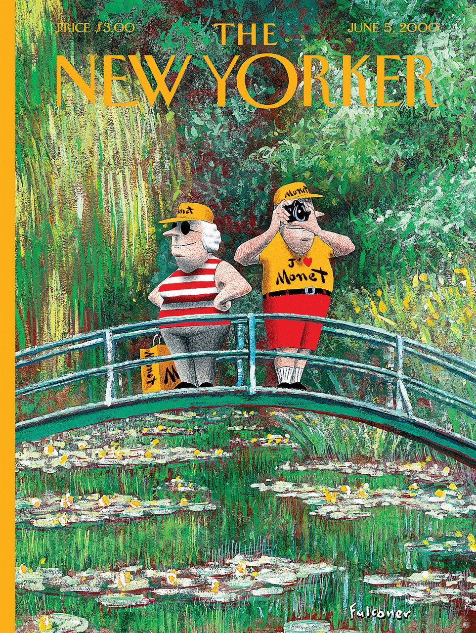 J'adore Monet - 750pc Jigsaw Puzzle by New York Puzzle Company