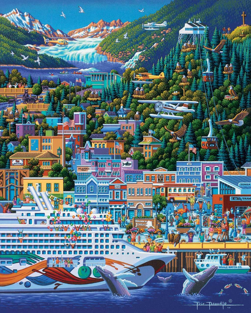 Juneau - 500pc Jigsaw Puzzle by Dowdle  			  					NEW