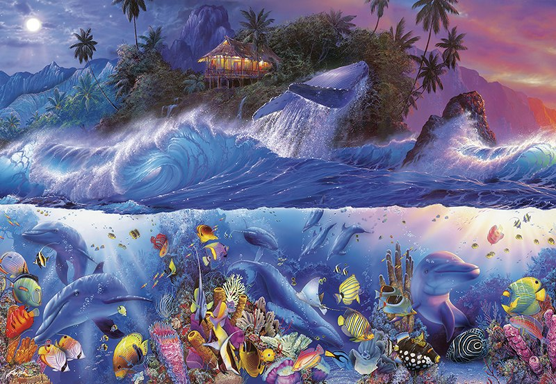 Beyond the Reef III - 2000pc Jigsaw Puzzle by Buffalo Games  			  					NEW