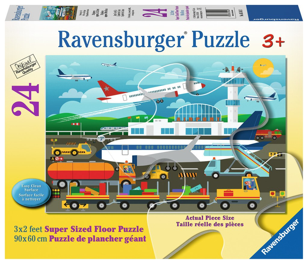 Preparing to Fly - 24pc Floor Jigsaw Puzzle By Ravensburger  			  					NEW