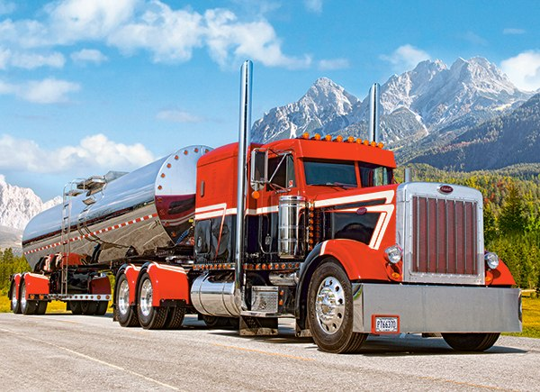 Peterbilt - 300pc Jigsaw Puzzle By Castorland
