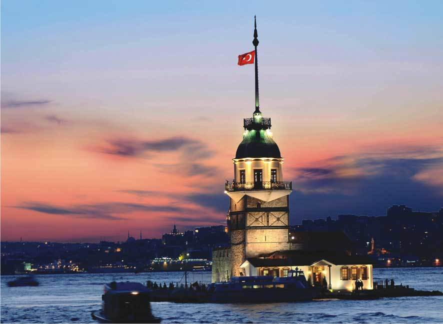Maiden's Tower - 1000pc Jigsaw Puzzle by Anatolian